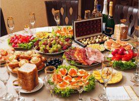Как составить праздничное меню на Новый 2017  год: тонкости и правила