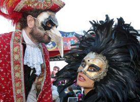 Венецианский карнавал. Февраль