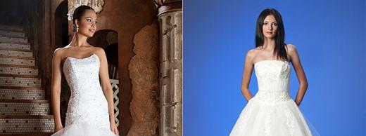 Пышные свадебные платья для стройных девушек