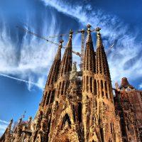 Архитектурное чудо великого сумасшедшего  Гауди в Барселоне