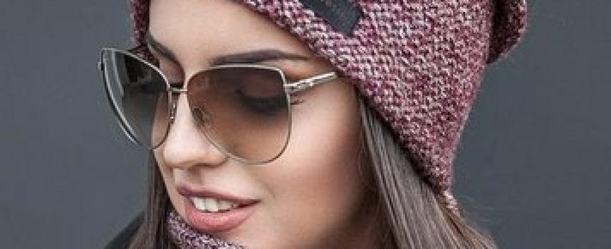 Вязаные женские шапки 2019